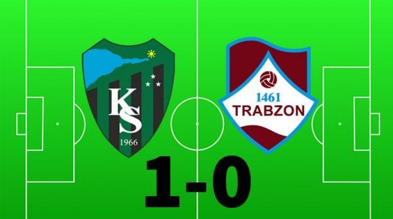 Kocaelispor: - 1461 Trabzon: 1-0