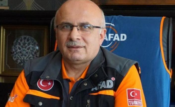 AFAD İl Müdürü Tekoğul istifa etti