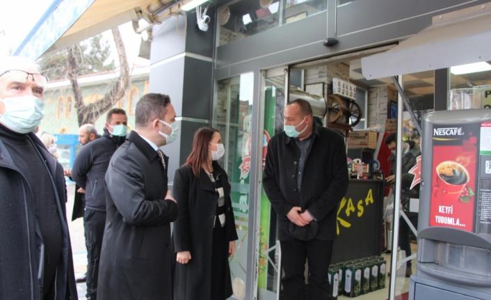 AK Parti Bursa Milletvekili Ödünç'ten Pazaryeri ilçesine ziyaret