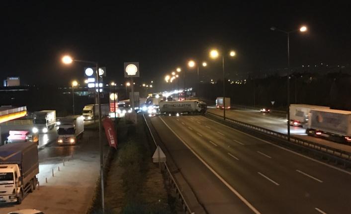 Anadolu Otoyolu Kartepe kesimi Ankara yönü trafiğe açıldı