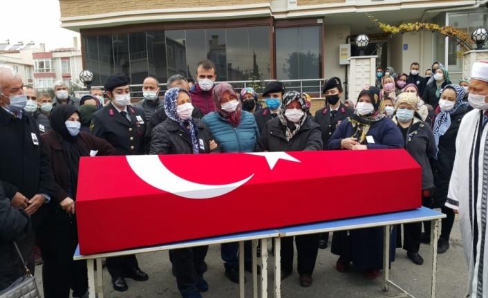 Ankara'da vefat eden Uzman Çavuş Tufan Sayacı, Tekirdağ'da toprağa verildi