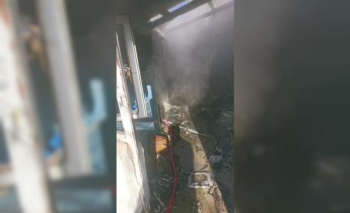 Babaeski'de evde çıkan yangın söndürüldü