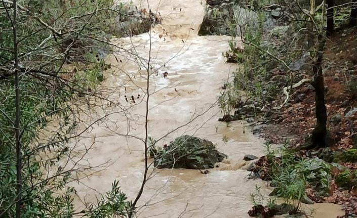 Çöken ahşap köprüden dereye düşerek suya kapılan kadın öldü