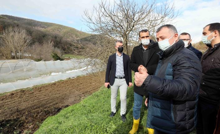 """Başkan Büyükakın, """"Çiftçimiz rahat olsun, Büyükşehir Belediyesi yanlarında"""""""