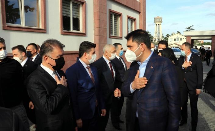 Çevre ve Şehircilik Bakanı Kurum, Tekirdağ'da konuştu: