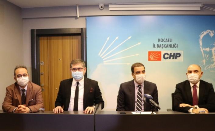 CHP milletvekilleri Toprak ve Tezcan Kocaeli'de basın toplantısı düzenledi