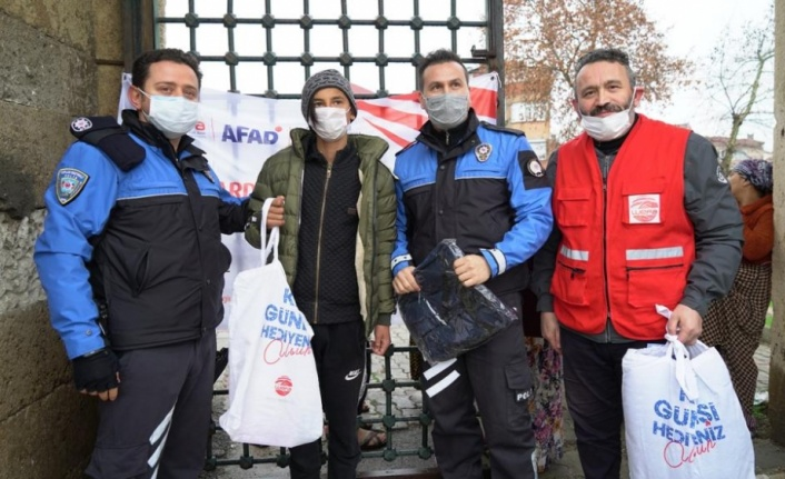 Edirne'de ihtiyaç sahibi çocuklara WEFA desteği
