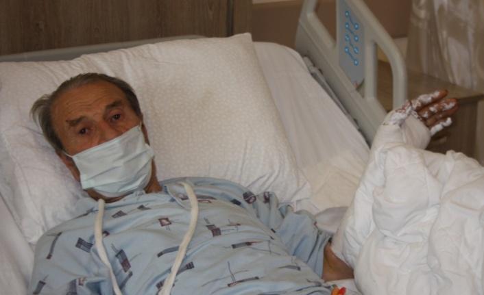 Edirne'de ormanda domuzun saldırdığı yaşlı adam yaralandı