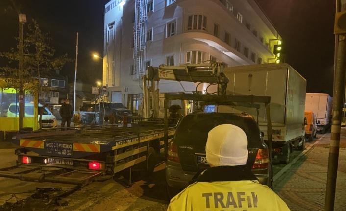 Edirne'de polisin