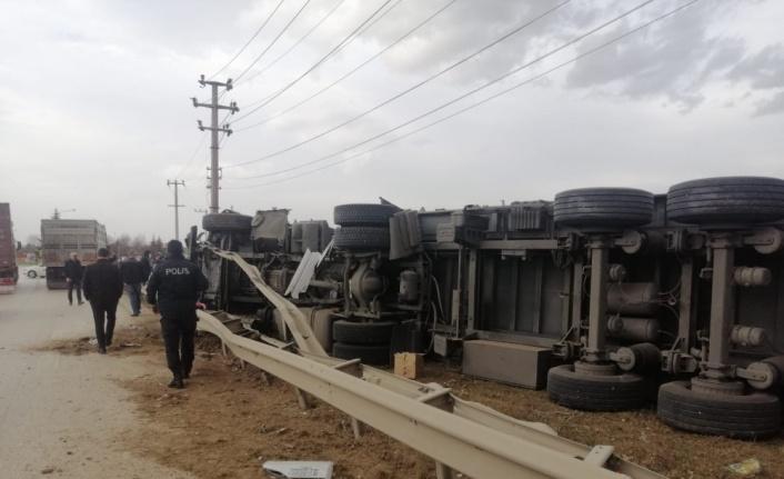 İnegöl'de trafik kazasında 1 kişi yaralandı