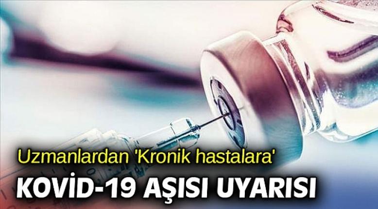 Kalp hastalarına covid-19 aşısı uyarısı