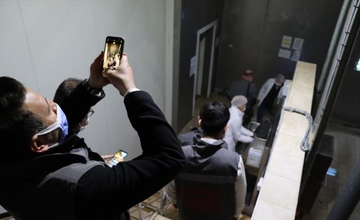 Kırklareli'nde et entegre tesisindeki hijyen kurallarının ihlal edildiği saptanan görüntülerle ilgili inceleme