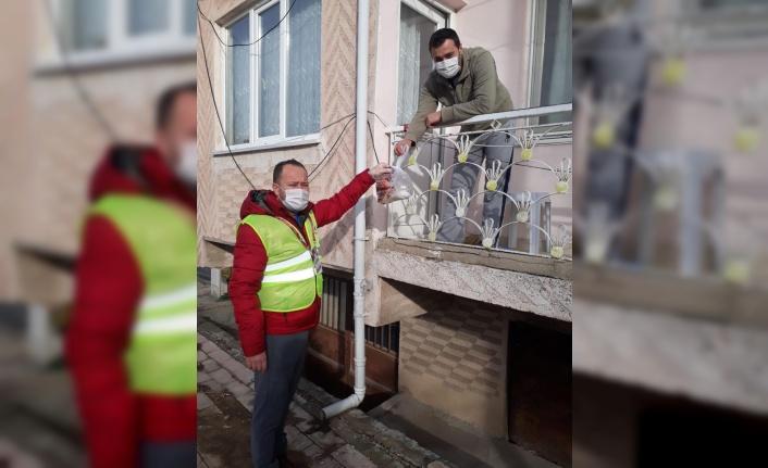 Kırklareli'nde Vefa Sosyal Destek Grubu vatandaşların ihtiyaçlarını karşılıyor