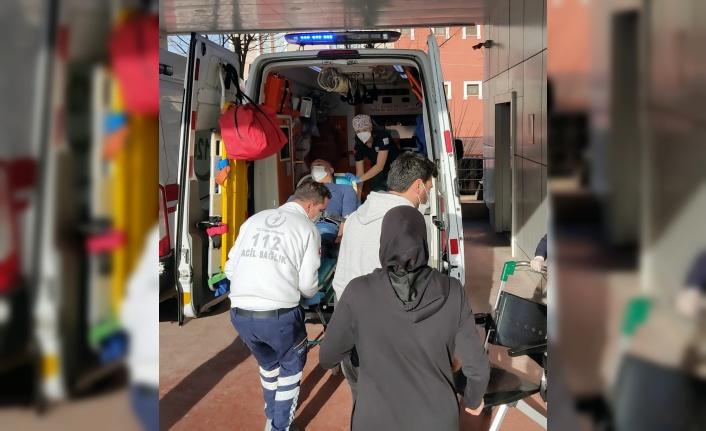 Çiftlikte çıkan yangında 3 kişi yaralandı