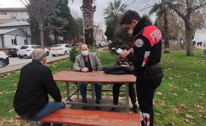 Kocaeli'de güvenli park bahçe uygulamasında aranan 1 kişi yakalandı