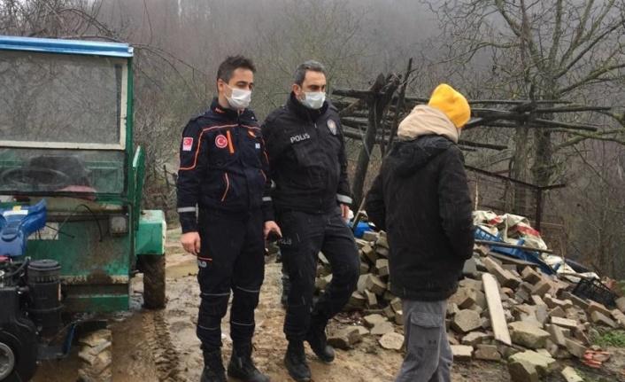 Kocaeli'de ormanda kaybolan 2 işçi bulundu