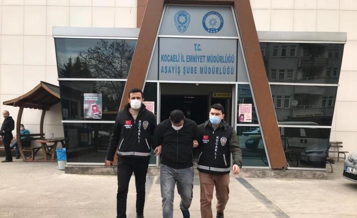 Kocaeli'de şantiyelerden kablo çalan şüpheli tutuklandı