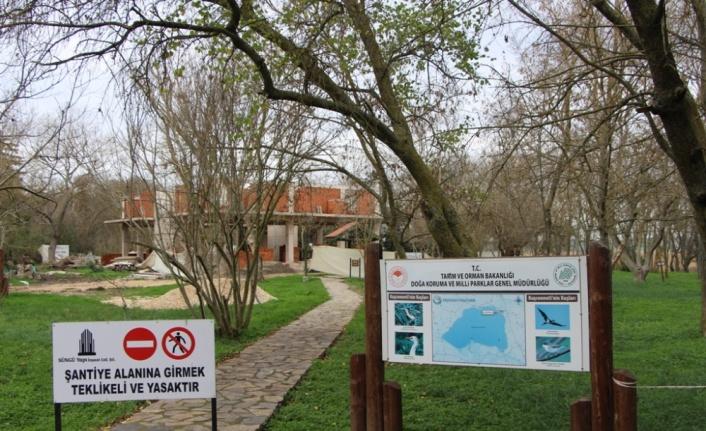 Kuş Cenneti Milli Parkı'ndaki revize ve güçlendirme çalışmaları haziran ayında tamamlanacak