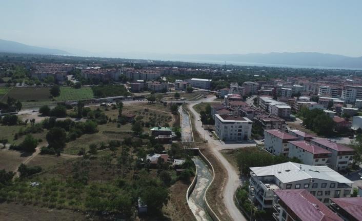 Orhangazi'deki Nadır Deresi'nin ıslah çalışmaları tamamlandı