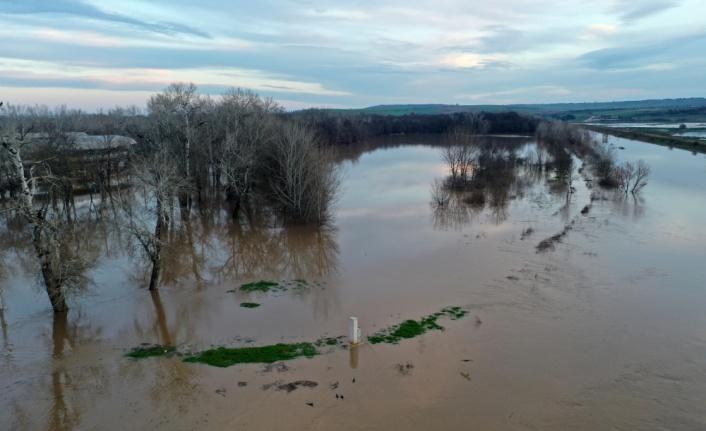 Tunca'da su seviyesi düşüyor, Meriç'te yükseliyor