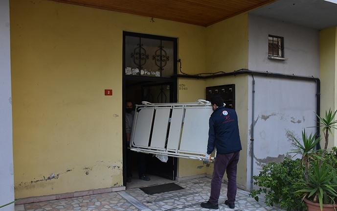 Tuzla'da, bakıma muhtaçlara hasta yatağı veriliyor