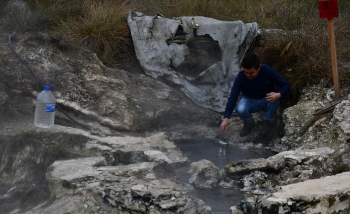 Ulus Dağı eteklerindeki eski yerleşim bölgesi ve termal kaynak turizme kazandırılacak
