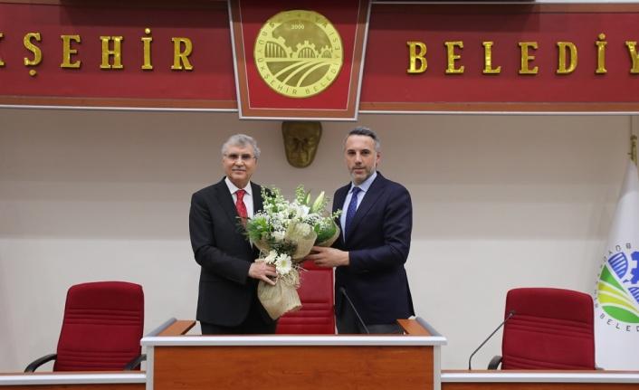 Başkan Yüce, AK Parti İl Başkanı Tever ve yönetimiyle bir araya geldi