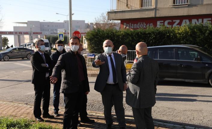 Darıca'da hastane karşısına yeni otopark