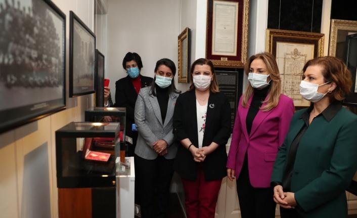 Kadın Başkanlar Atatürk Müzesi'ne hayran kaldı