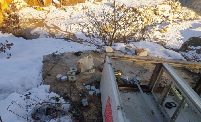 Manyas'ta kablo hırsızlığı şüphelisi yakalandı