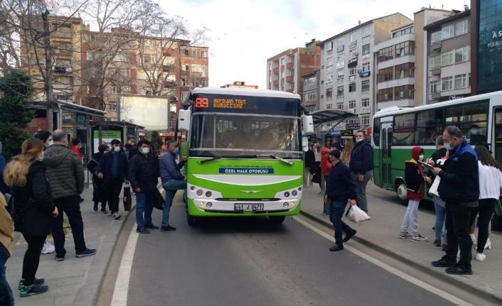 Toplu taşımada pandemi denetimi