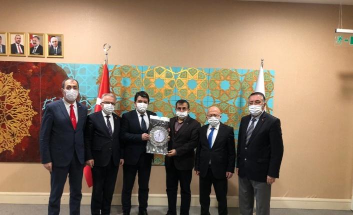 Ankara Uluslararası Batı Karadeniz Birliğinden ziyaretler