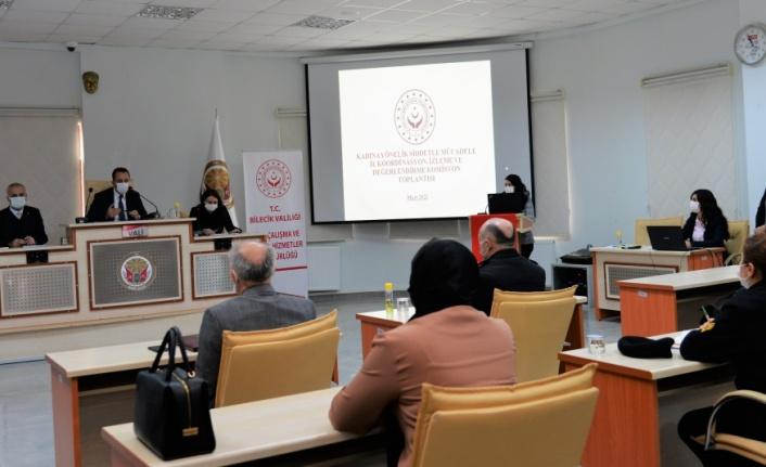 ''Kadına Yönelik Şiddetle Mücadele İl Koordinasyon'' Toplantısı