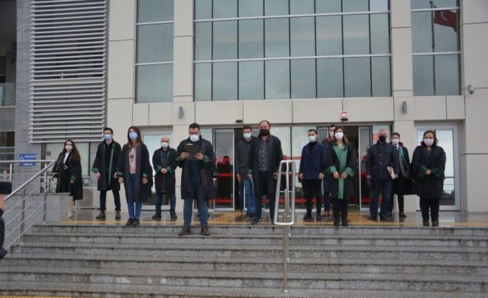 Kırklareli Barosu, avukat Ersin Arslan'ın öldürülmesine tepki gösterdi