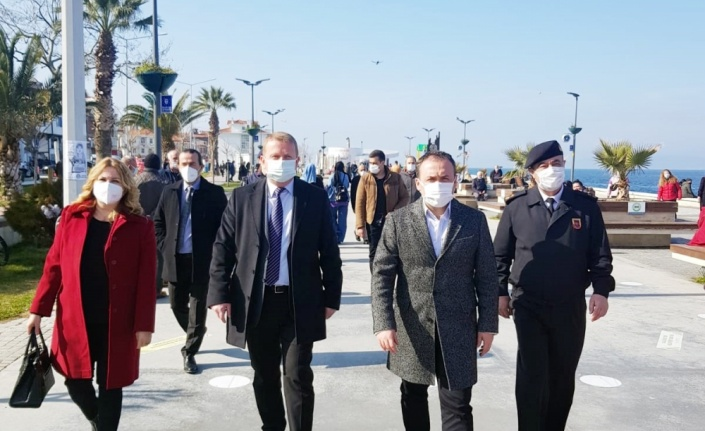 Mudanya'da 55 ekiple denetim yapıldı