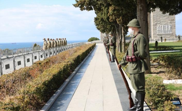 Tarihi Gelibolu Yarımadası'nda Çanakkale Deniz Zaferi'nin 106. yılı törenleri öncesi son rötuşlar
