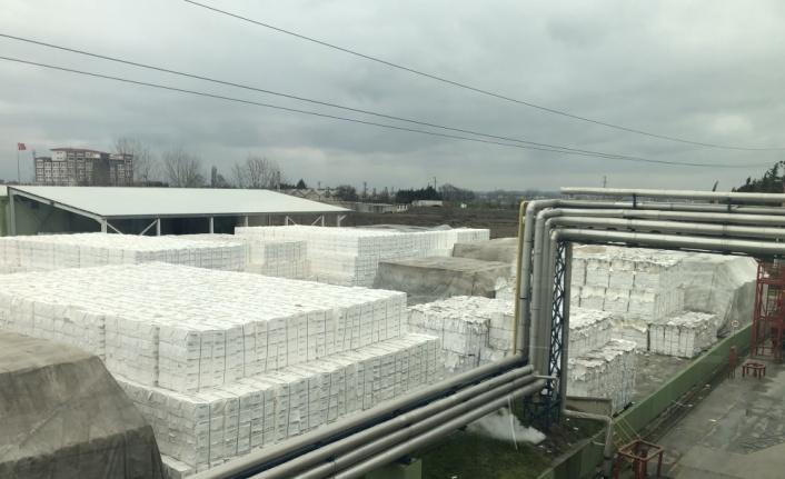 Tekirdağ'dan 80 ülkeye temizlik kağıdı ihracatı yapılıyor