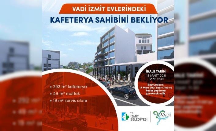 Vadi İzmit'te kafeterya için başvurular sona eriyor