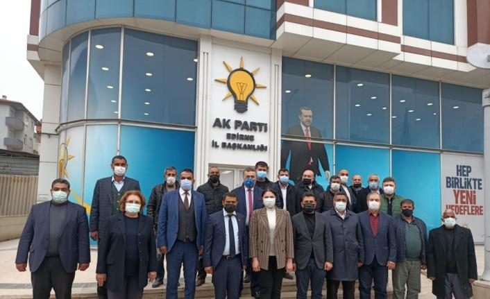 AK Parti İl Başkanı İba, Roman sivil toplum kuruluşu temsilcileriyle bir araya geldi
