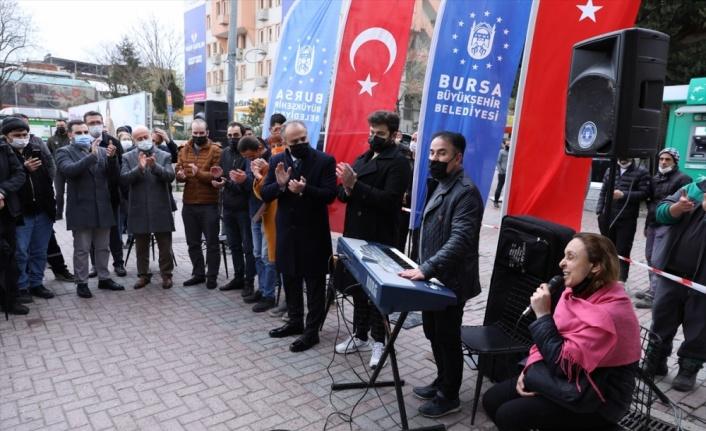 Bursa'nın sokak sanatçıları, vatandaşlara müzik ziyafeti yaşatacak