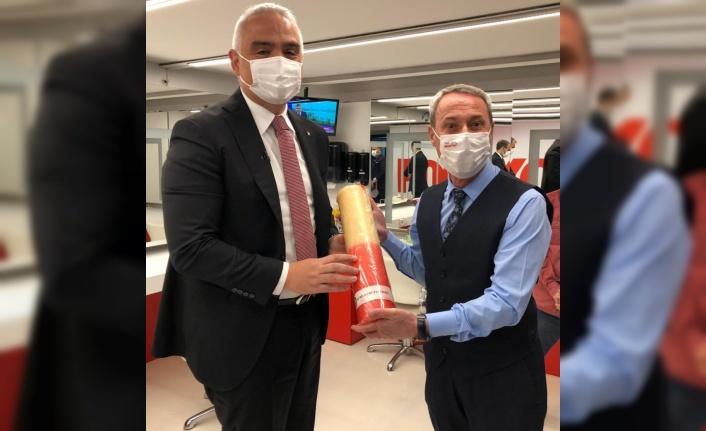 Ciğerciler Derneği, Turizm Bakanı Ersoy'u