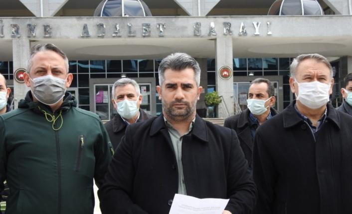 Edirne'de sivil toplum kuruluşları açıklama yapan bazı emekli amiraller hakkında suç duyurusunda bulundu