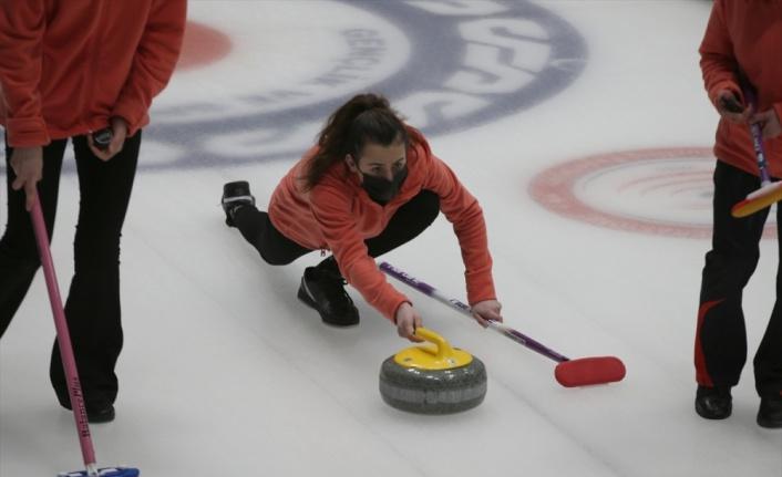 Erzurum'da Türkiye Curling Ligleri Final Müsabakaları