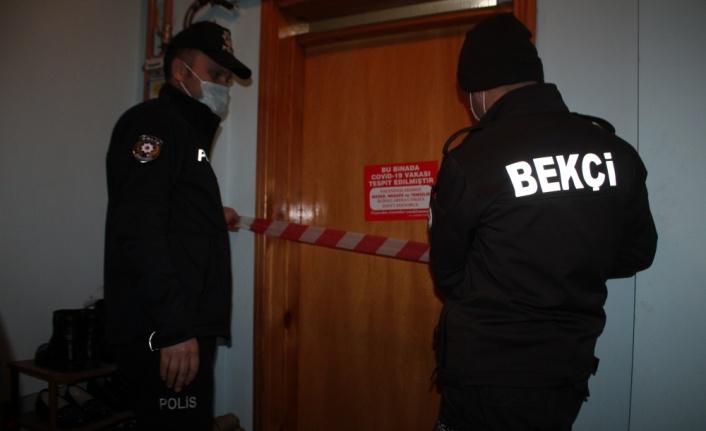 Ferizli'de Kovid-19 hastaları ve pozitif temaslılar evlerinde denetleniyor