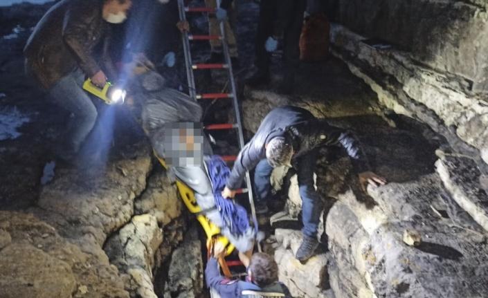 Kocaeli'de bir kadının cesedi mağarada bulundu