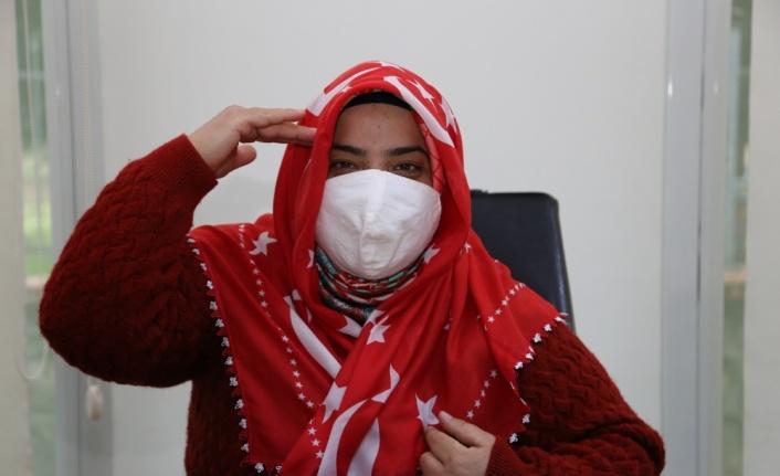 Kocaeli'de trafik kazası sonrası engelli kalan genç kadın spor ve el işiyle hayata tutundu