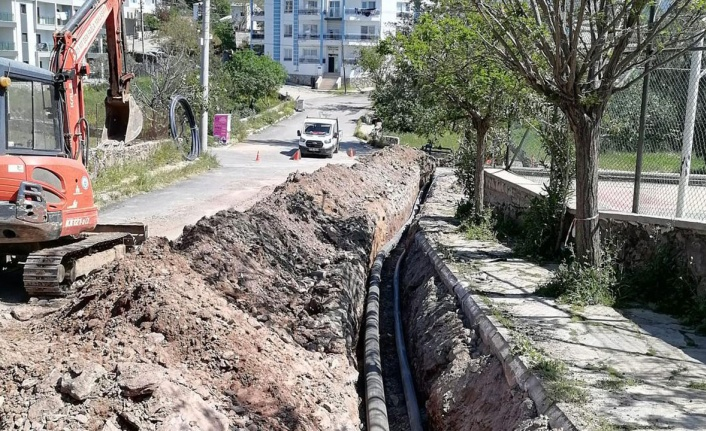 Muğla'da Bodrum'a 650 m3'lük ek içme suyu kaynağı