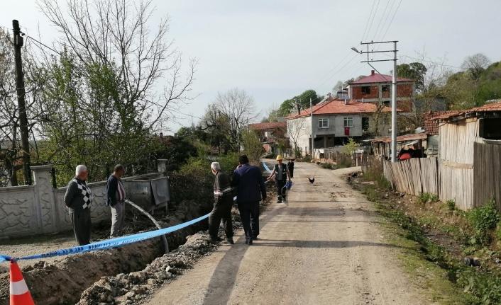 Sakarya Bakırlı Mahallesi'nde içme suyu hattı yenileniyor