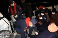 Yunanistan tarafından Türk kara sularına geri itilen 231 düzensiz göçmen kurtarıldı