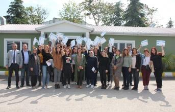 48. dönem İZAYDAŞ Akademi mezunları Eskişehir Üniversitesi'nden
